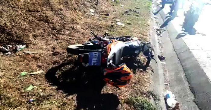 Motociclista fallecido en Bulevar Monseñor Romero