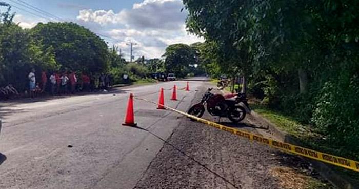 Un fallecido y un lesionado tras accidente en Tecoluca, San Vicente