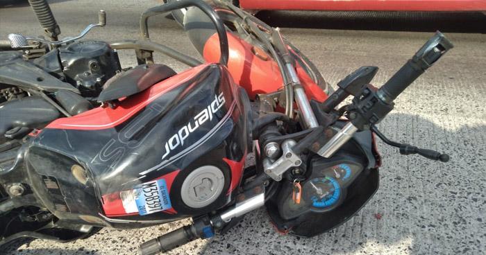 Motociclista fallecido tras accidente de tránsito en carretera a Santa Ana