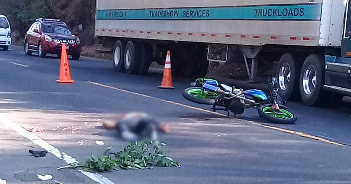 Un fallecido y un lesionado tras accidente de tránsito en carretera de San Miguel