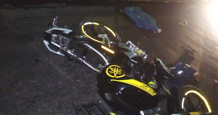 Motociclista fallecido tras accidentarse en Bulevar Venezuela