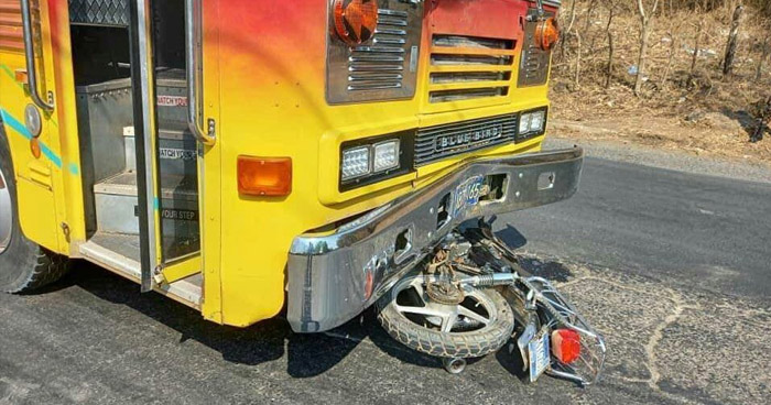 Motociclista pierde la vida en accidente sobre carretera Ruta Militar, La Unión