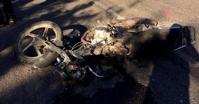Motociclista muere tras accidente en carretera de La Unión