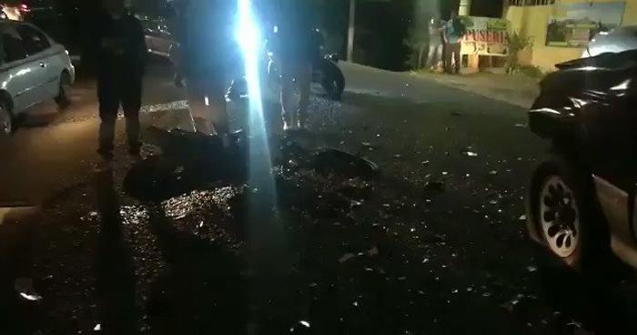 Motociclista muerto al colisionar contra un vehículo en carretera a Los Planes de Renderos