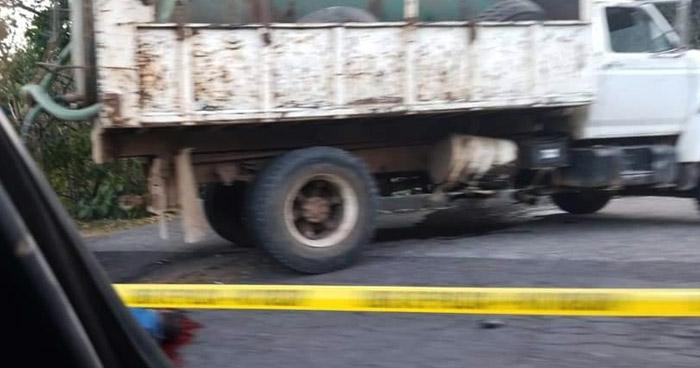 Motociclista muere en accidente de tránsito en carretera Ruta de Paz
