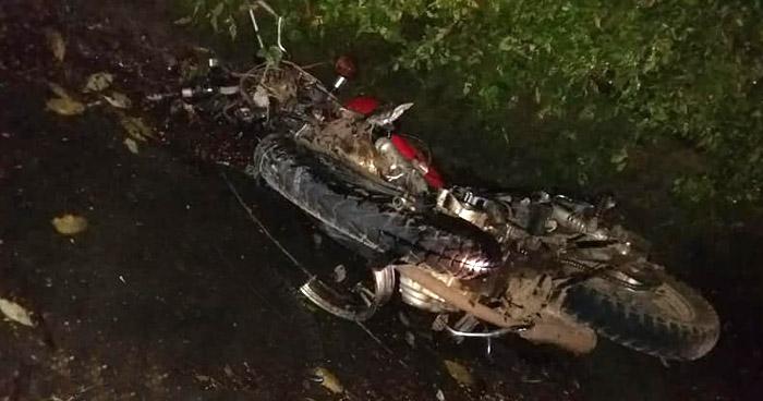 Motociclista fallecido tras accidente de tránsito en carretera Troncal del Norte