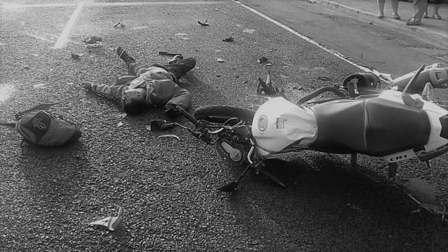 Motociclista fallece en accidente de tránsito sobre la carretera Panamericana