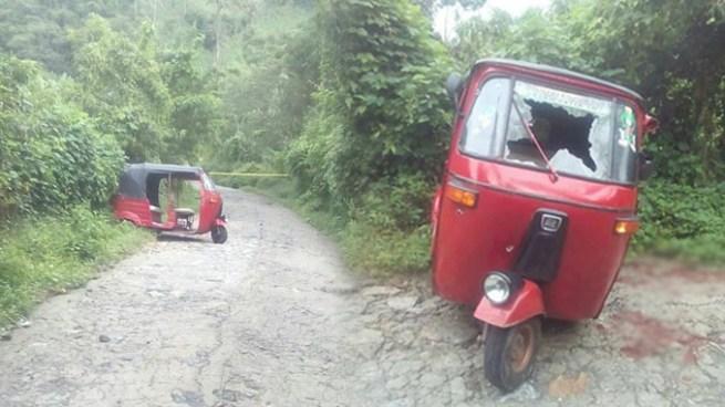 Pandilleros acribillan mototaxi y dejan un fallecido y dos lesionados en San Martín