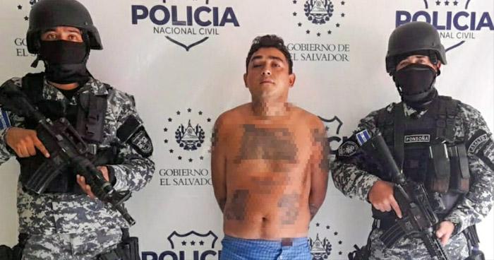 Cae peligroso miembro de la MS que ordenaba crímenes en San Miguel