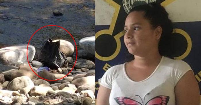Mujer ahorcó a su hijo recién nacido y luego lanzó su cadáver a un río de Anamorós, La Unión