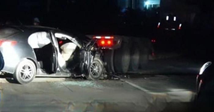Mujer pierde la vida tras fuerte accidente de tránsito en carretera a Santa Ana