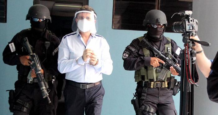 Fiscalía pide detención provisional para ex Ministro de Defensa, David Munguía Payés