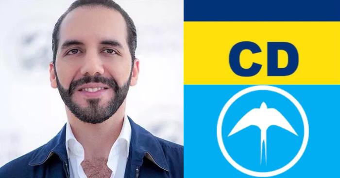 Nayib Bukele buscará la presidencia con la alianza Nuevas Ideas – Cambio Democrático CD