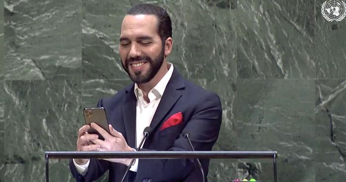 """Presidente Nayib Bukele exhortó a la ONU a cambiar la forma """"obsoleta"""" de realizar la Asamblea General"""