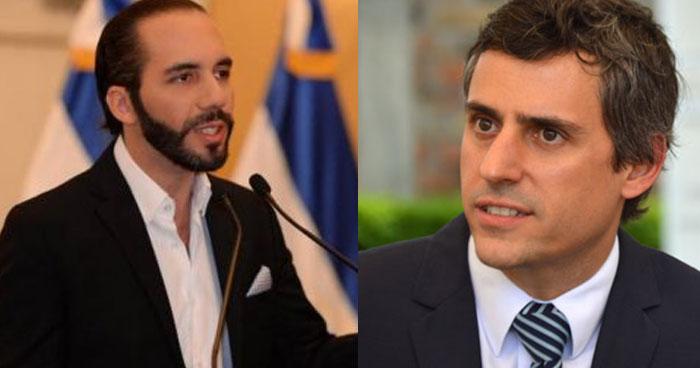 Nayib Bukele y Calleja de acuerdo en eliminar el impuesto a la telefonía y a la tecnología