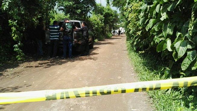 7 impactos de bala recibio un hombre esta mañana en Nejapa