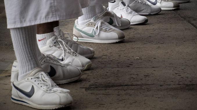 zapatos cortes nike
