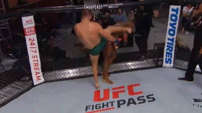 Luchador de MMA gana contrato de la UFC tras conseguir un tremendo nocaut