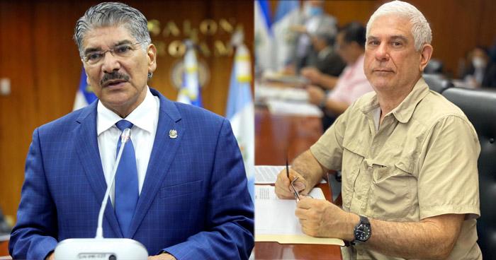 Piden al TSE no inscribir como candidatos a diputados a Norman Quijano y Rodolfo Parker