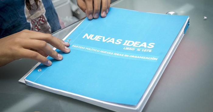 TSE valido 176 mil firmas a Nuevas Ideas y denegó 14 mil, solo necesitaban 50 mil