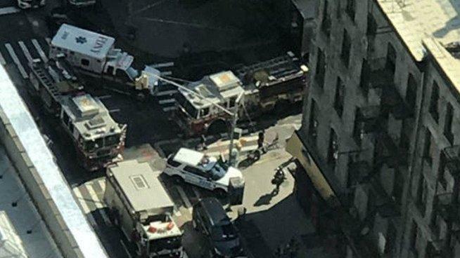 Explosión por fuga de gas deja 35 heridos en Nueva York
