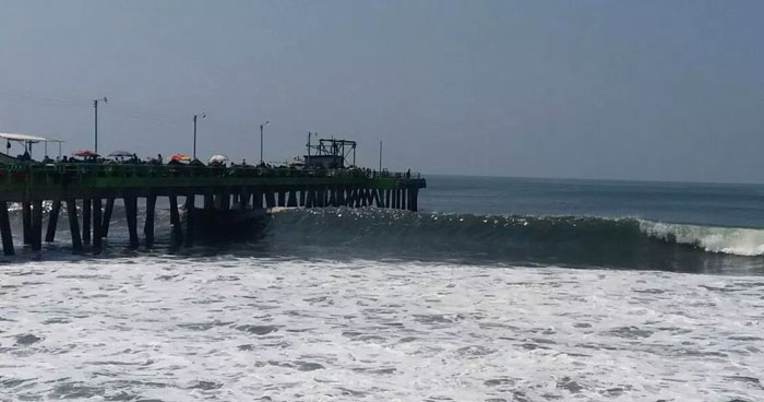 Advierten sobre oleaje rápido y alto que arribará a la costa de El Salvador