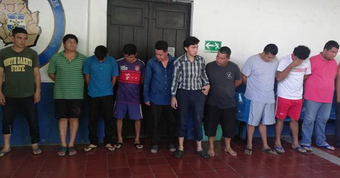 Capturan a 17 personas vinculadas a 22 casos de homicidios en Morazán