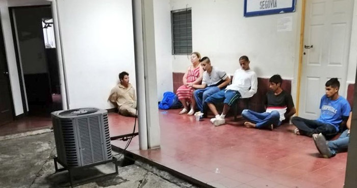 Pandilleros capturados durante operativo en San Vicente