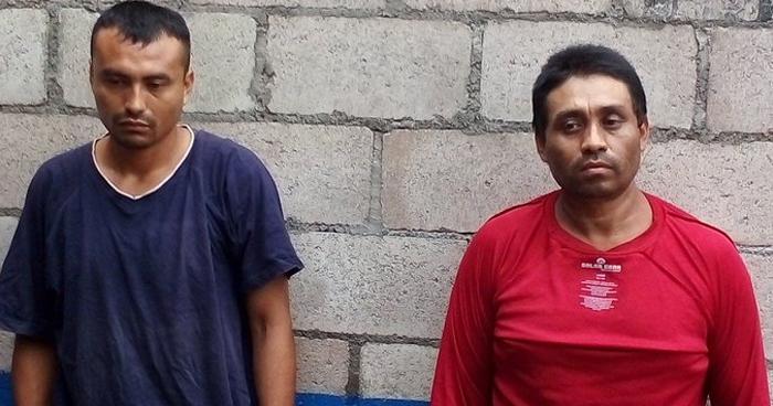 Padre e hijo capturados por asesinar a una familiar en Usulután