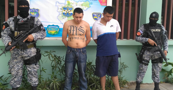 Capturan a peligrosos pandilleros que atemorizaban a habitantes de San Marcos