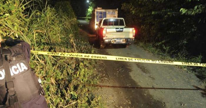 Asesinan a un hombre en Panchimalco