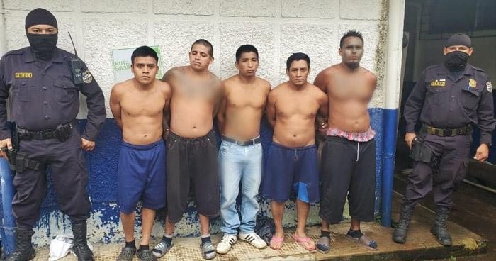 Capturan a miembros de diferentes pandillas en Sonsonate