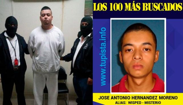 INTERPOL captura a Palabrero, uno de los 100 más buscados, deportado de Estados Unidos