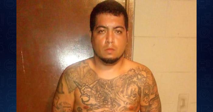 """Capturan el """"Maniaco"""", un pandillero de los 100 Más Buscados en reparto de Ilopango"""