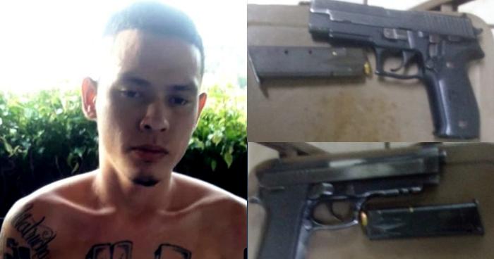 Capturan a pandillero armado junto a un menor de edad en San Marcos