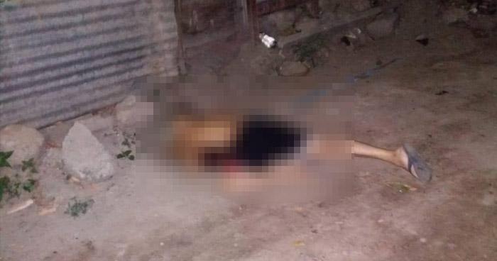 Pandillero fue asesinado en su vivienda en San Cayetano Istepeque, San Vicente