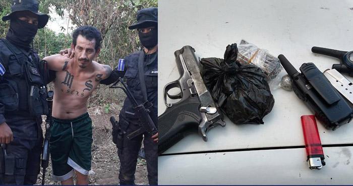 Cae peligroso pandillero buscado por Homicidio Agravado