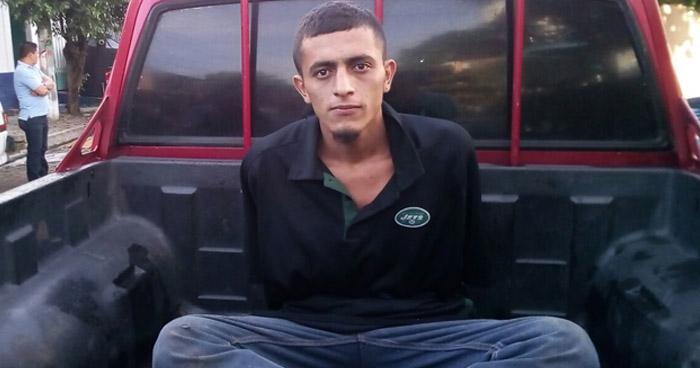 Capturan a pandillero que atacó a policías que patrullaba en Tepecoyo, La Libertad