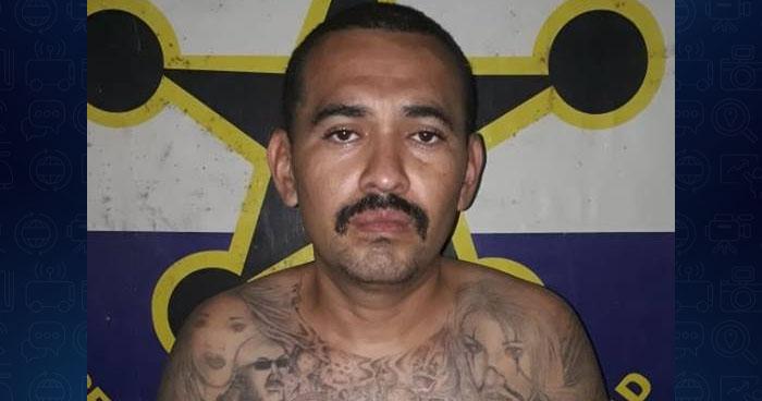 Peligroso pandillero fue capturado en La Unión con droga y un arma ilegal