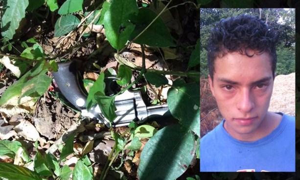 Pandillero lesionado y otro capturado tras intercambio de disparos con agentes de la PNC en Coatepeque