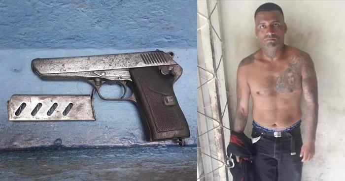 """Capturan a pandillero de la """"Mirada Loca"""" cuando esperaba víctimas para asaltar en San Salvador"""
