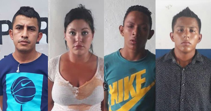 Capturan a pandilleros que asesinaron a un hombre dentro un hospedaje en el centro de San Salvador