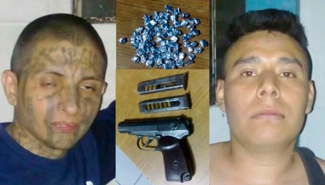 Peligrosos pandilleros fueron capturados durante procedimiento policial en Ciudad Delgado