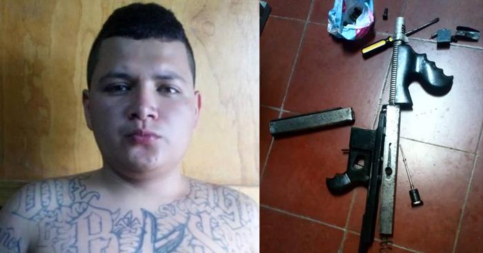 Incautan carabina a un pandillero que delinquía en Sonsonate