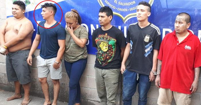 Hijo de Juez de Paz de Talnique capturado junto a pandilleros en Mejicanos