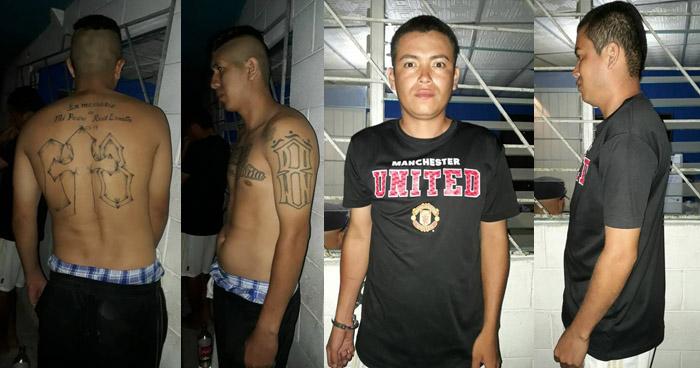 Capturan a pandilleros que limitaban la libre circulación de habitantes de Ciudad Delgado