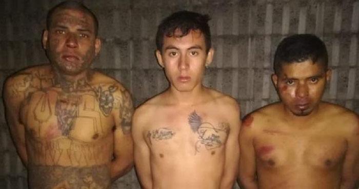 Capturan a tres pandilleros en colonia 22 de Abril de Soyapango