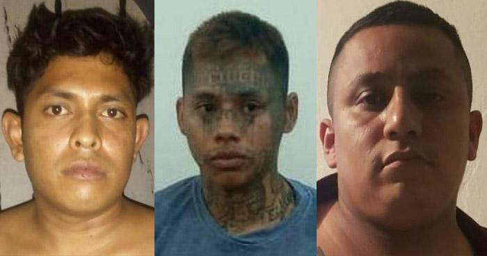 Capturan a tres peligrosos pandilleros que operaban en San Martin y Santa Ana