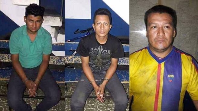 Capturan a pandilleros responsables de privar de libertad a repartidores de yogurt