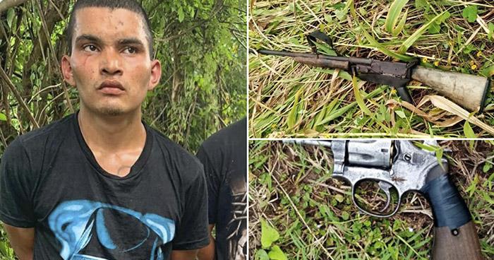 Capturan a pandilleros que habían privado de libertad a una persona en La Paz